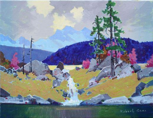 Golden Afternoon, Jasper Lakes by Robert Genn