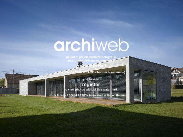 archiweb.cz - Dům v betonu