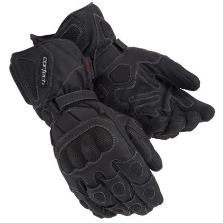 These are sweat.  Stuffitts glove inserts would keep these from stinking!  Cortech Scarab Winter Motorcycle Gloves