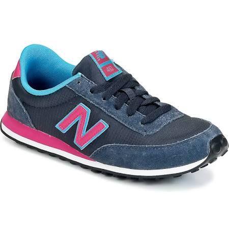 Zapatillas New Balance WL410 azul marino rosa mujer