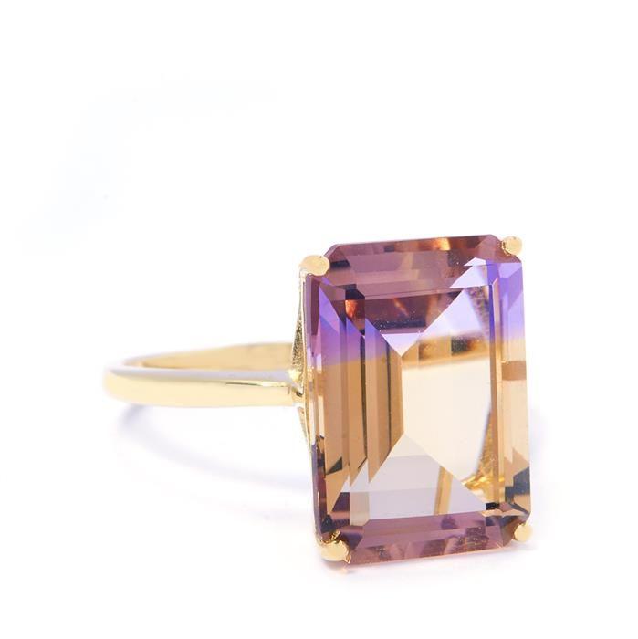 Anahi Ametrine Gold Ring