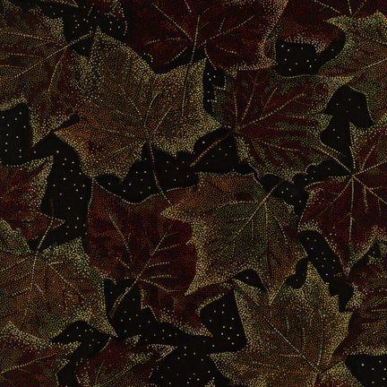 Robert Kaufman Fabrics: ESM-5158-1 AUTUMN from Nature's Brilliance
