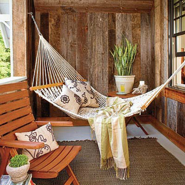 The Perfect Place To Doze On A Summer Afternoon. String Up A Rope Hammock  On Your Porch. Use Galvanized Threaded Eyebolts To Secure It To Wall Studs,  ...