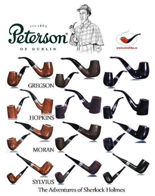 Dýmky The Adventures of Sherlock Holmes The Adventures of Sherlock Holmes pipes