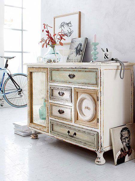 Auf alt gemacht Möbel mit Patina - so schön sind patinierte Möbel