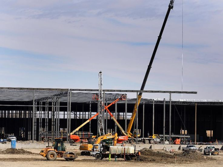 The new Target warehouse under construction in the High Plains Industrial Park on Tuesday April 24,  2012 in Balzac near Calgary.