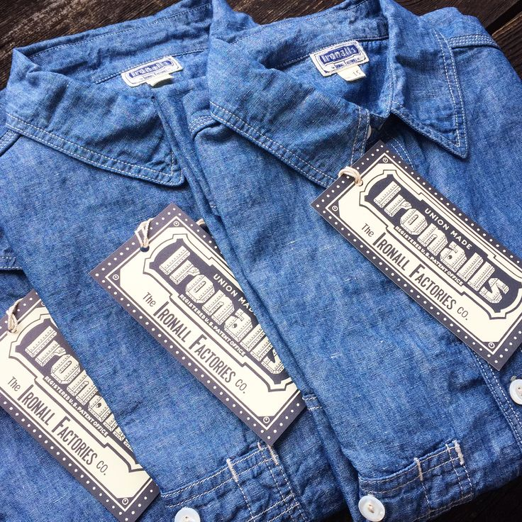 Freewheelers Ironalls Chambray Shirt. (made in japan, selvage, denim, desolation row, union made)