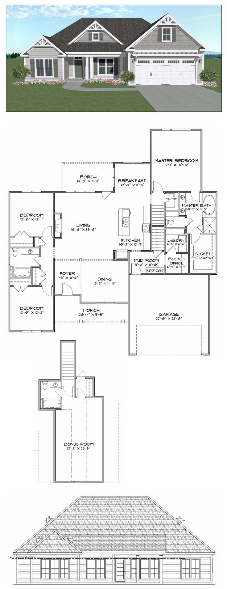 19 best house plans 2000 2800 sq ft images on pinterest for 2000 sq ft house plans