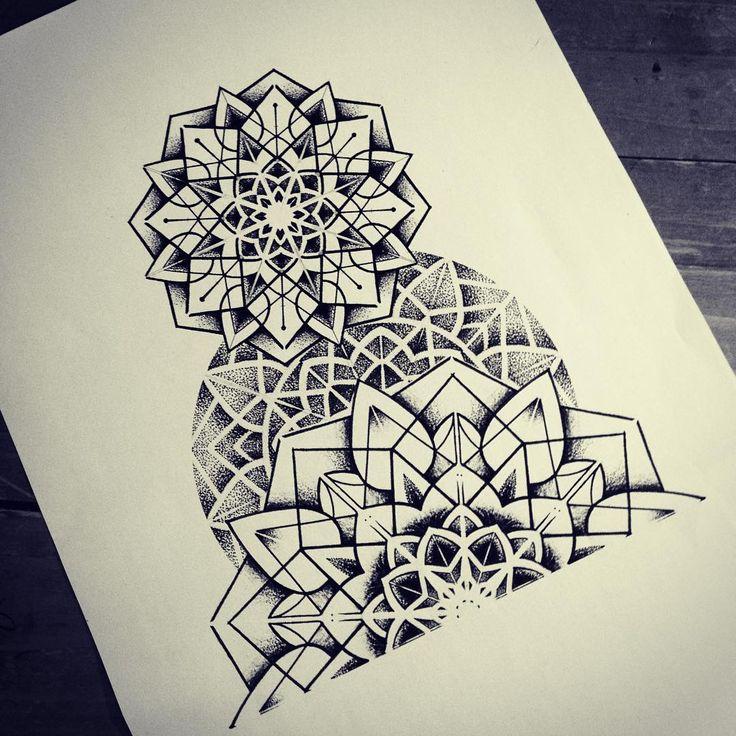 Top 25+ best Geometric mandala tattoo ideas on Pinterest | Lotus ...