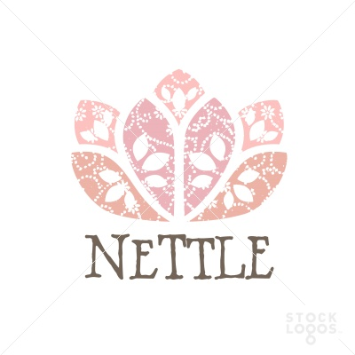 nettle flower logo | StockLogos.com