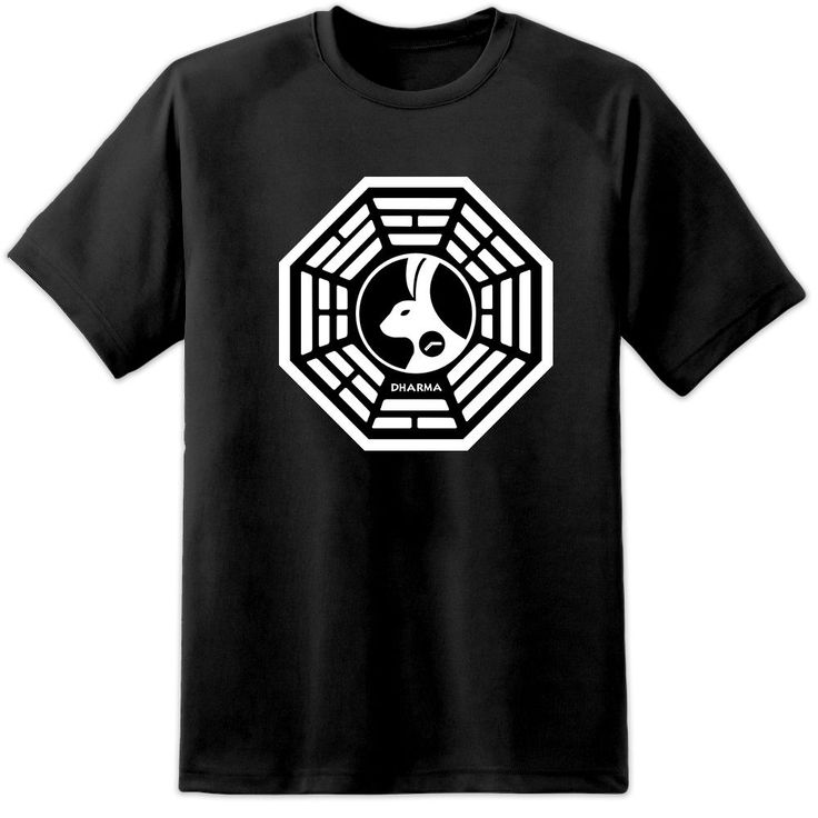 LOST DHARMA INITIATIVE HANSO FOUNDATION LOOKING GLASS STATION T SHIRT (S -3XL) T-Shirt Discount 100 % Cotton T Shirt For Men'S
