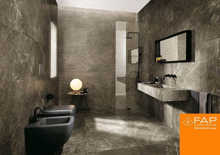 Wall: #Roma Imperiale, #Roma Filo Imperiale. Floor: #Roma Imperiale Matt
