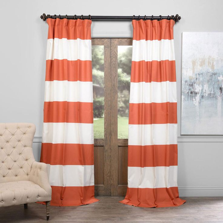 1000 Ideas About Horizontal Striped Curtains On Pinterest Striped Curtains Short Window