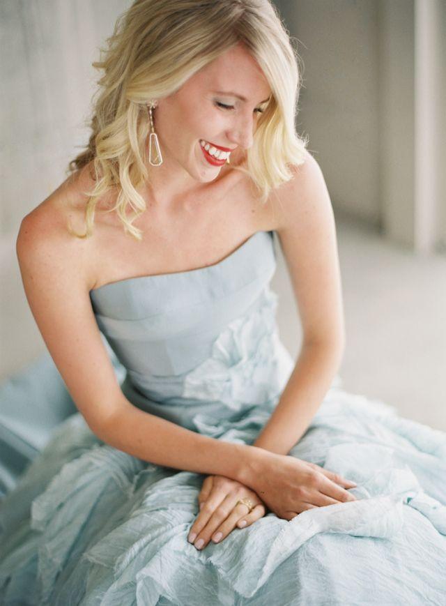 Tara LaTour Powder Blue Wedding Dress