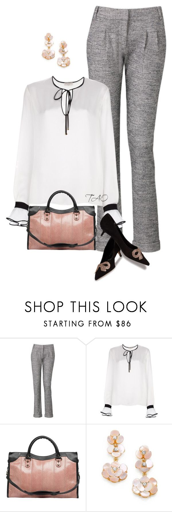 """""""Girly Girl Touches"""" by tishaod ❤ liked on Polyvore featuring Komodo, Emilio Pucci, Balenciaga, Kate Spade and Butter Shoes"""