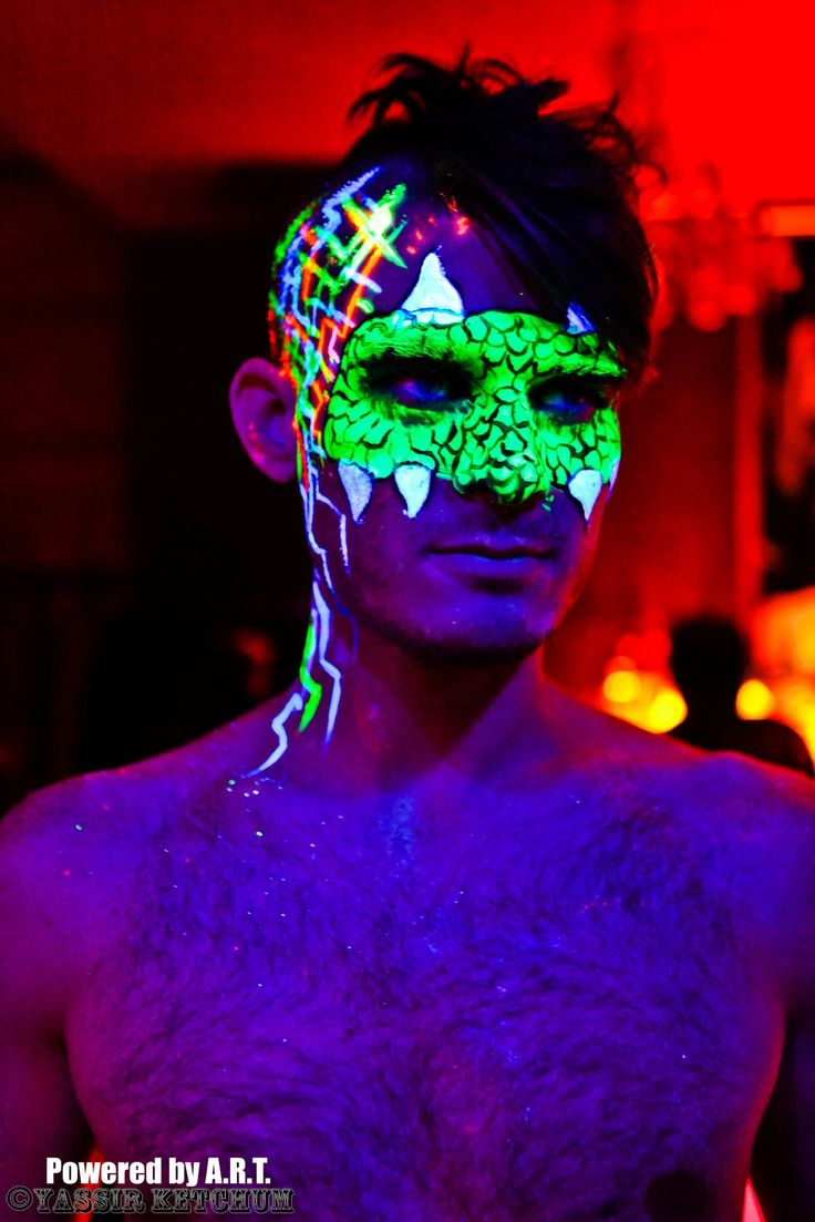 25 best ideas about neon face paint on pinterest uv. Black Bedroom Furniture Sets. Home Design Ideas
