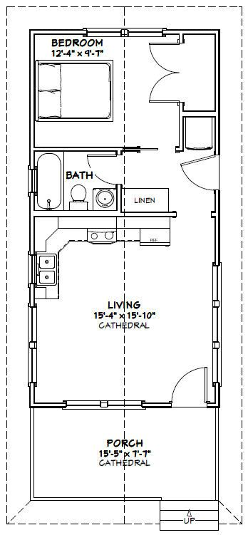 2023 best tiny house cottage images on pinterest small for 16x32 cabin floor plans