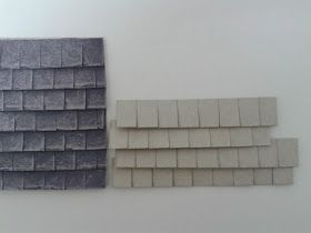 Roofing from cardboard
