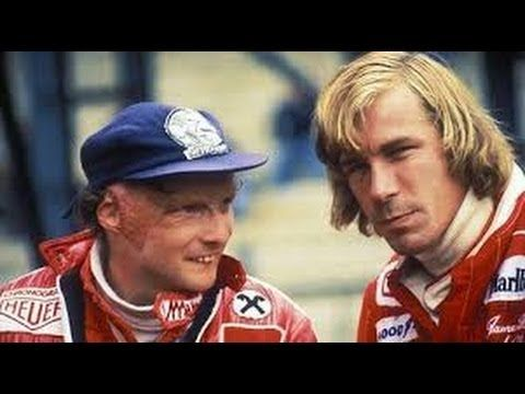 James Hunt versus Niki Lauda - Historic Clash Of The Titans - sends shivers down my spine!