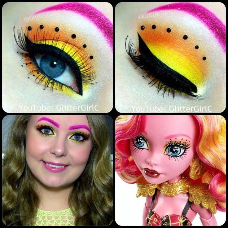 Monster High Gooliope Jellington Makeup