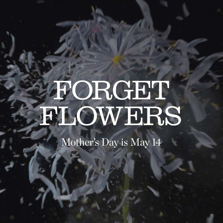 Get her a gift that requires less maintenance. #ForgetFlowers… #Coach #fashion #forgetflowers #lovemon #mom #MarketDistrict #Boston