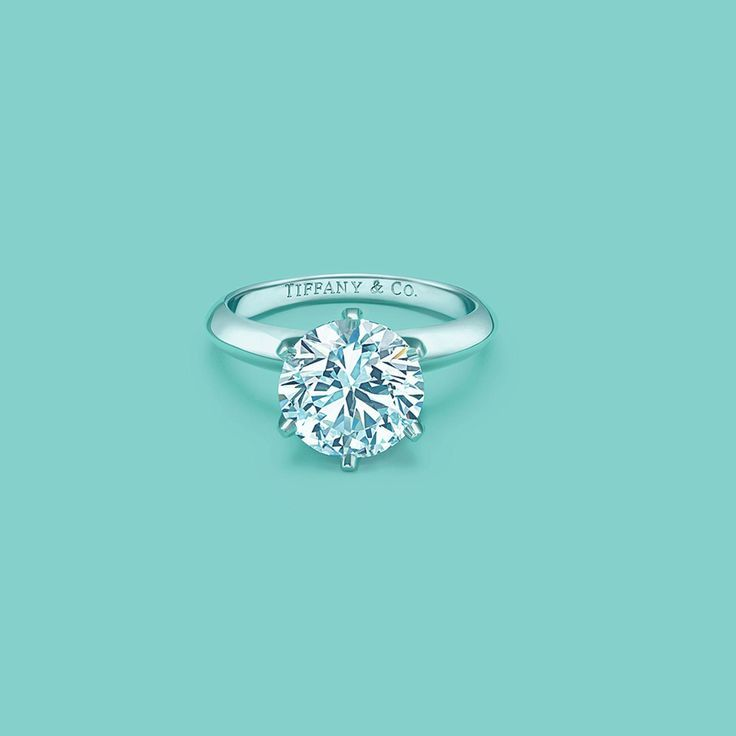 Doesn't have to be a Tiffany ring. Just a simple solitaire is all!