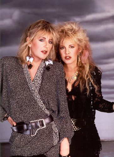 Stevie Nicks & Christine McVie Tango in the Night promo outtake