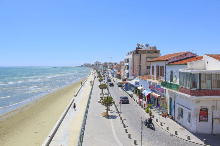 Larnaca seafront, Cyprus