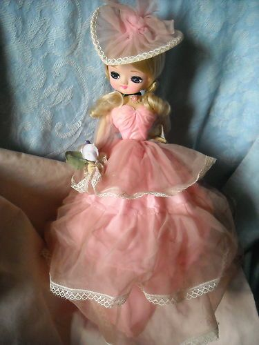 1970 dolls with white dress