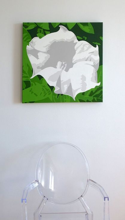Buy Angel Trumpet, Acrylic painting by Susan Porter on Artfinder. Discover thousands of other original paintings, prints, sculptures and photography from independent artists.