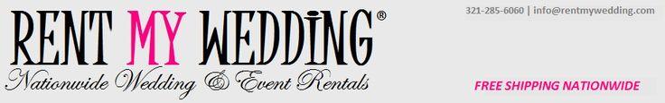 Rent My Wedding //uplighting