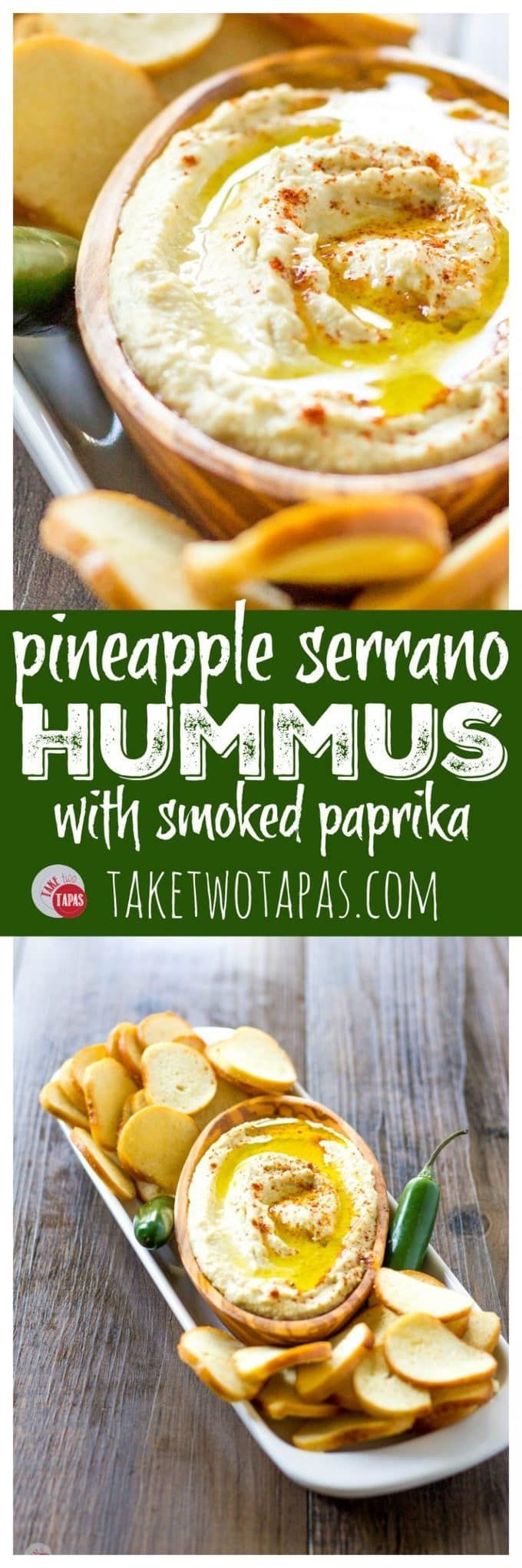 Hummus with Pineapple and Smoked Paprika | Take Two Tapas