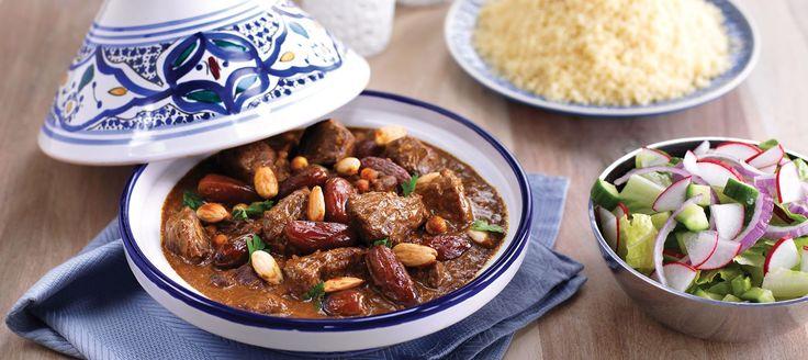 Lamm- och dadelgryta med couscous - Recept - Arla