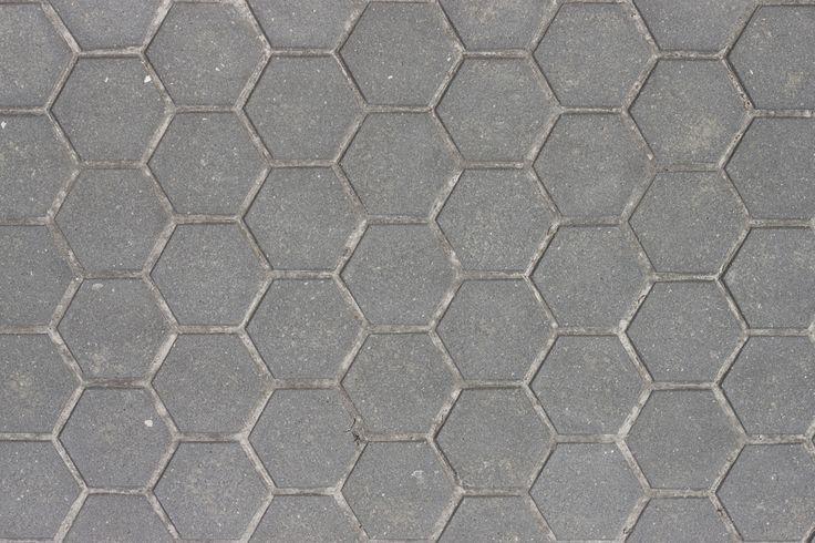 Concrete hexagonal paver texture texture de pav - Adoquines de hormigon ...