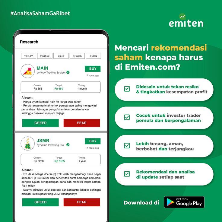Emiten Com Download Aplikasi Analisa Saham Indonesia Di 2021 Pemerintah Ekosistem Aplikasi