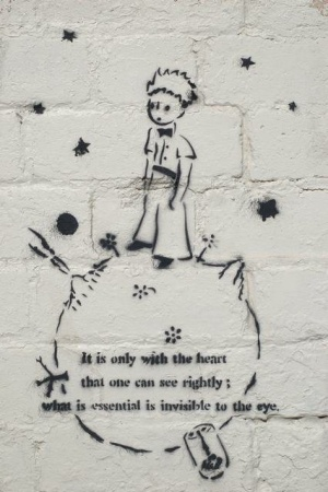 Le Petit Prince - Street Art & Voices by diana