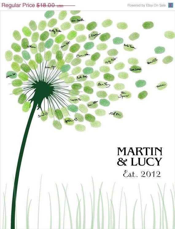 SALE DIY Wedding Tree Guest Book / Printable by CustombyBernolli, $16.20