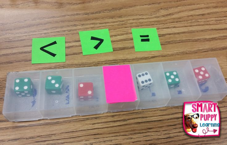 dice shaker compare numbers Math