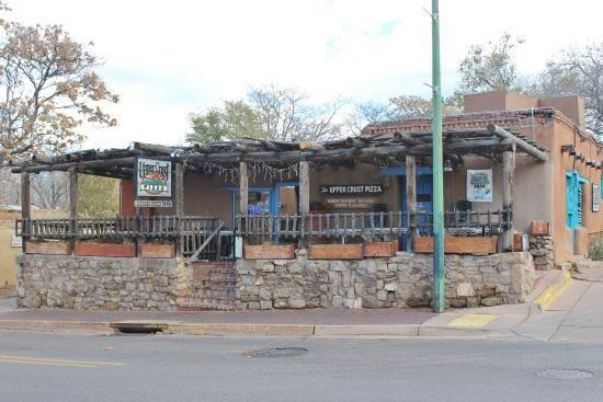 Upper Crust Pizza--always a must stop in Santa Fe!