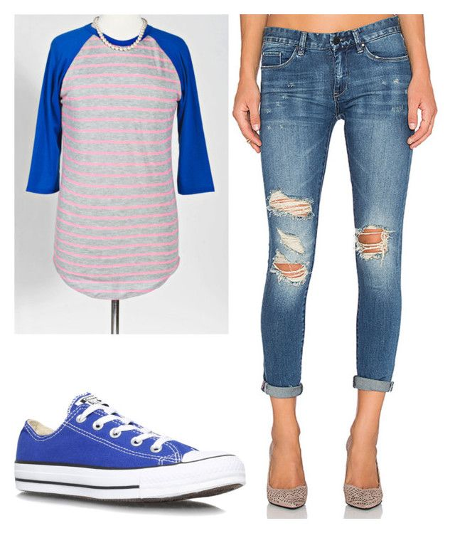 """Lularoe Randy Tee with jeans and converse.   Like the style you see? Shop LLR on Facebook by searching: """"LuLaRoe with Tiffany Braunel""""!"""