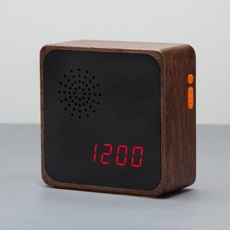 Alarm Clock By Wooden Radio Monoqi Clocks Watches