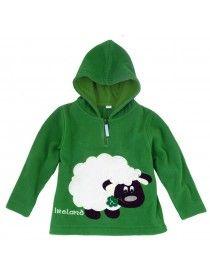 Green Ireland Sheep Fleece
