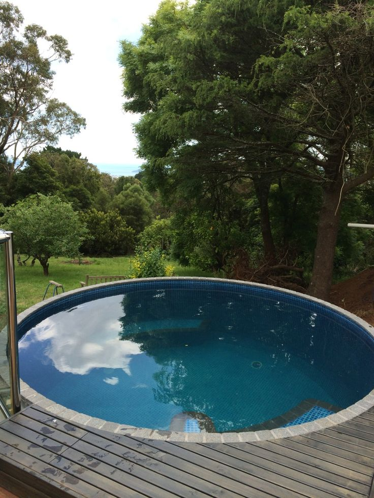 Australian plunge pool australian plunge pools for Plunge pool design