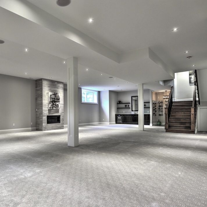 A 10 Foot High Ceiling In The Basement Raises The Bar And Lowers The Floor On Custom Home