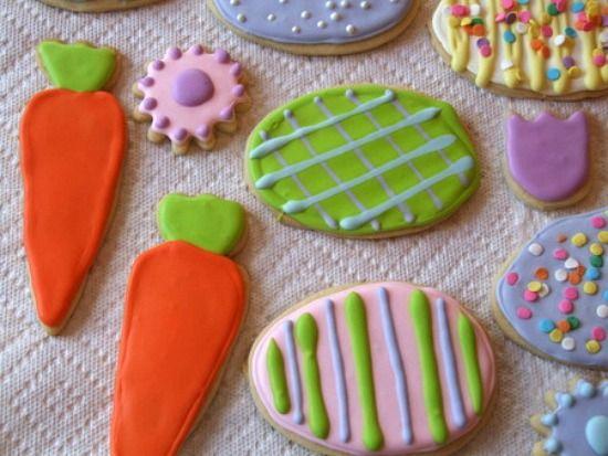 Lemon Cut Out sugar Cookies