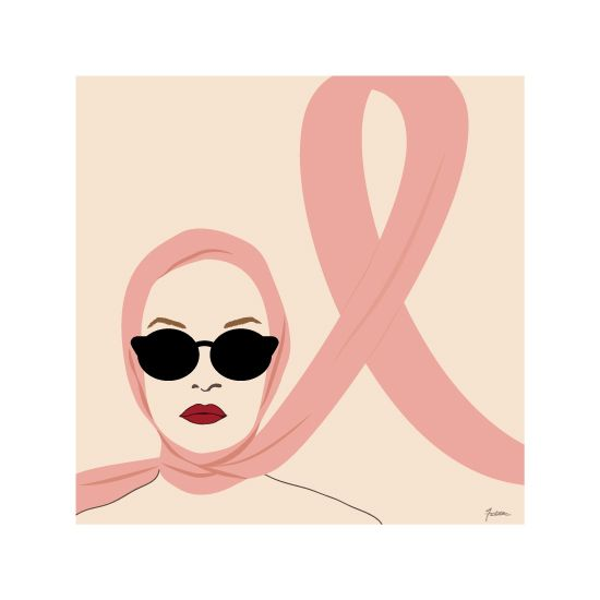 art prints - Breast Cancer Awareness by Faiths Designs