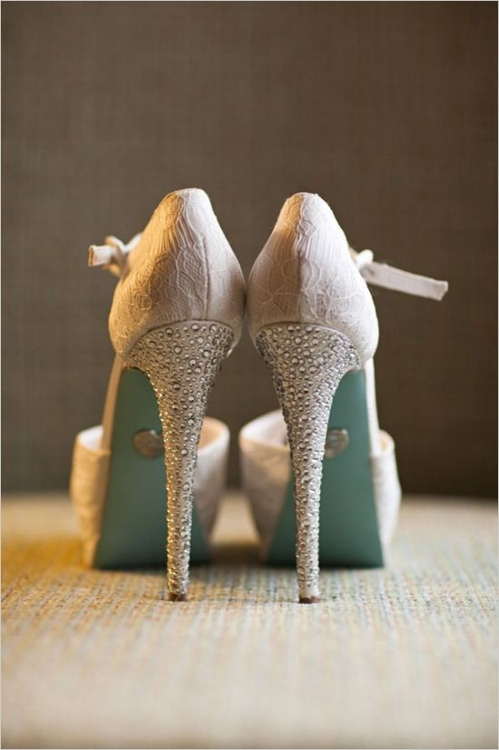 Ysl Sparkly Wedding Shoes