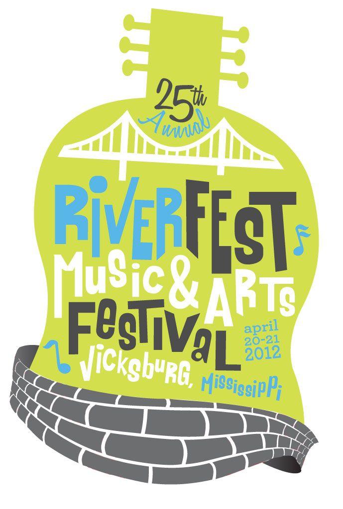 Riverfest Music & Arts Festival Logo