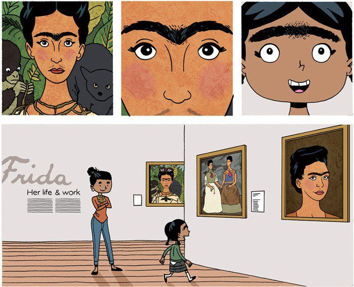 This Frida Kahlo-Inspired Cartoon Will Get You Through the Day