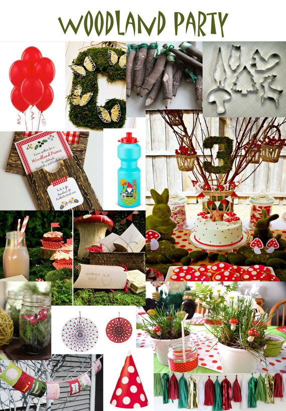 Woodland party !